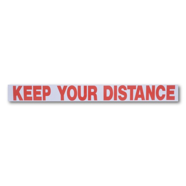 "KEEP YOUR DISTANCE"" Magnetic Flash Message - Driving School Supplies ...: www.d-ss.co.uk/magnetic-vinyl-signs/97-keep-your-distance-magnetic..."