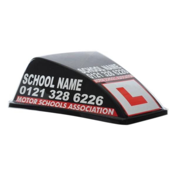 Black MSA DSS Aero Roof Sign   Full Artwork ... Sc 1 St Driving School  Supplies Ltd
