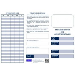 Personalised Pupil Record and Appointment Cards