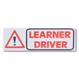 """LEARNER DRIVER"" Magnetic Flash Message - Type 2"
