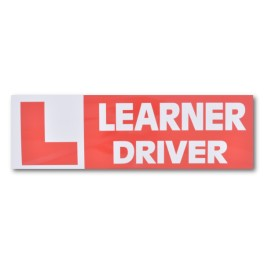 """""""LEARNER DRIVER"""" Magnetic Flash Message - Type 1"""