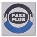 "Magnetic ""Pass Plus"" Logo"