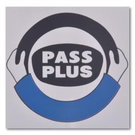 "Magnetic ""Pass Plus"" Logo"