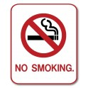 """No Smoking"" Sign - Type 1"