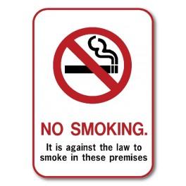 """""""No Smoking"""" Sign - Type 2"""