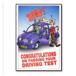 Personalised Congratulations Cards Driving School Supplies Ltd