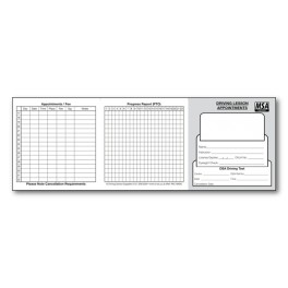 MSA Pupil Appointment Cards - Type 1