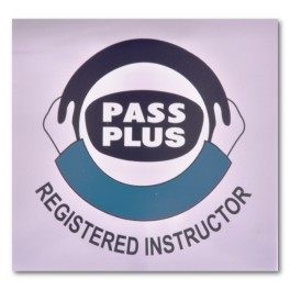 "Magnetic ""Pass Plus Registered Instructor"" Logo"