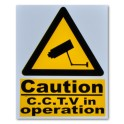 """CAUTION CCTV in operation"" Magnetic Sign"