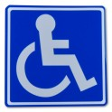 Magnetic Disabled Person Emblem