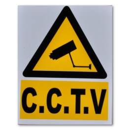 """CCTV"" Magnetic Flash Message"