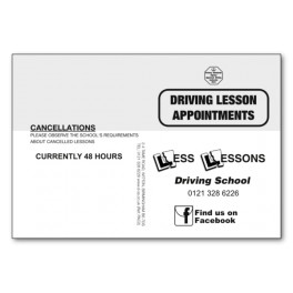 Personalised Pupil Appointment Cards -  Type 2