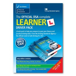 The Official DSA Complete Learner Driver Pack - Set of 3 Books