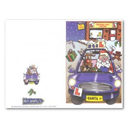 Personalised Christmas Cards - Type 1 : Outside