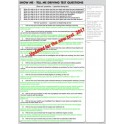 Show me, Tell me - Pad of 50 question sheets