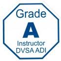 Adhesive Grade A Emblem