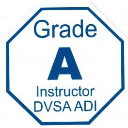 Magnetic Grade A Emblem