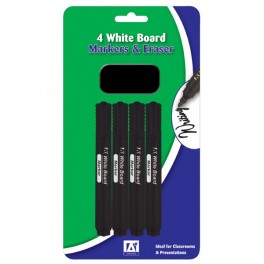 Whiteboard Marker Pens - Black